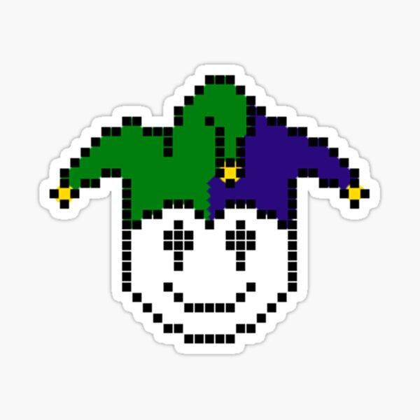 MisterJoker's Sticky Face Sticker