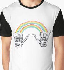 Louis Tomlinson Rainbow Hands Graphic T-Shirt