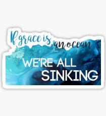 We're All Sinking Sticker