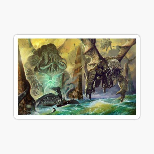 Cthulhu and Avatars by Loïc Muzy Sticker