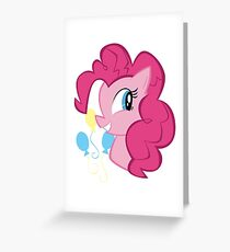 MLP: Pinkie Pie Greeting Card