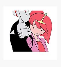 Bubblegum and Marceline Photographic Print