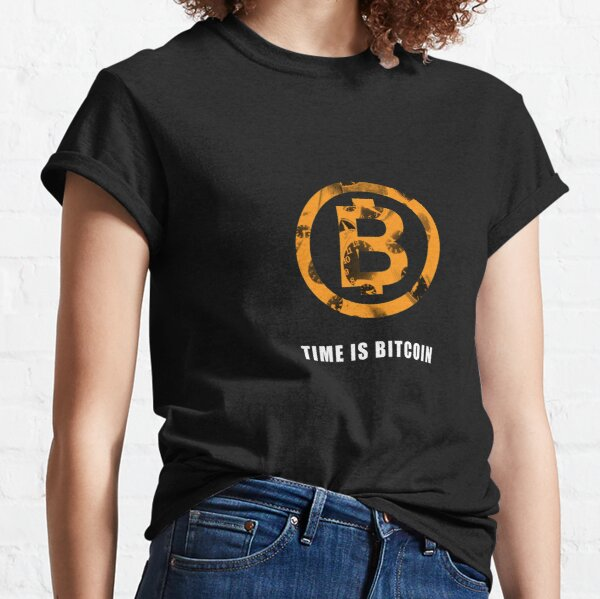 TIME IS BITCOIN T-shirt classique