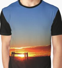 Sunrise | Montauk Point, New York Graphic T-Shirt
