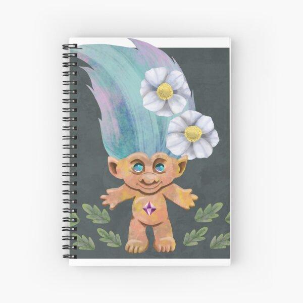 Mountain Avens Troll Spiral Notebook