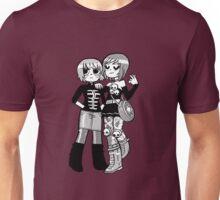 Kim Pine and Ramona Flowers Unisex T-Shirt