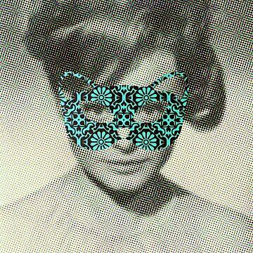 Rocio Durcal´s mask by dudor