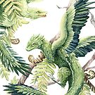 Dragons in the Ferns by Sarah Cotton