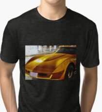 CHEVROLET Corvette 1969 Stingray Tri-blend T-Shirt