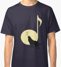 A song of Wolf and Moon Classic T-Shirt