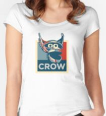 Vote Crow T. Robot Women's Fitted Scoop T-Shirt