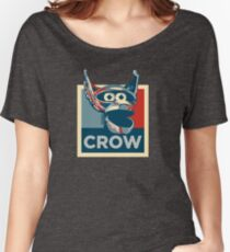 Vote Crow T. Robot Women's Relaxed Fit T-Shirt