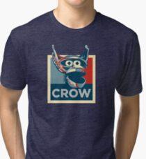 Vote Crow T. Robot Tri-blend T-Shirt
