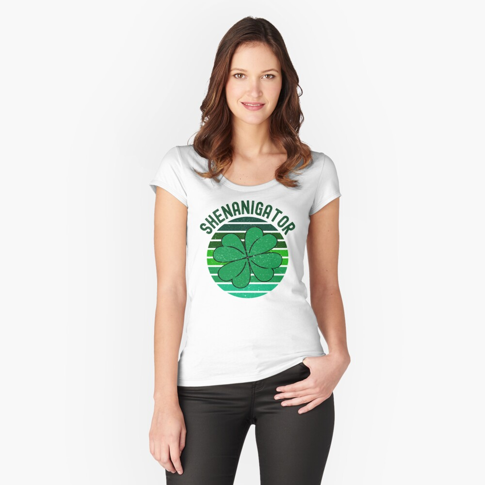 Shenanigator Fitted Scoop T-Shirt