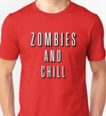 Camiseta ajustada Zombies y Chill