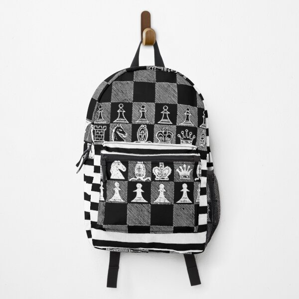 Chess Fan, Chess Player, Grand Master of Chess - White Backpack