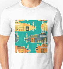 Seamless pattern with submarine T-Shirt