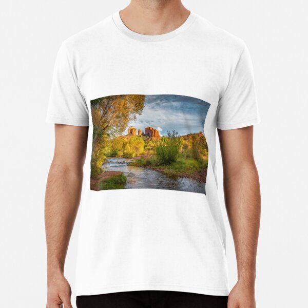 Red Rock Sunset Premium T-Shirt