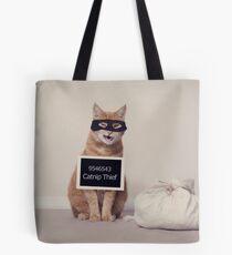 The Catnip Thief Tote Bag