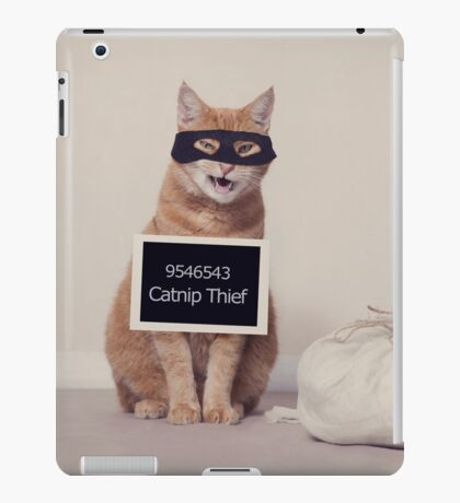The Catnip Thief iPad Case/Skin