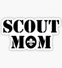 Scout Mom Sticker