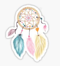 Dreamcatcher Drawing Stickers Redbubble