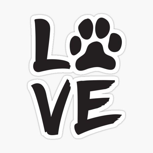 My Dog Is My Valentine Sticker