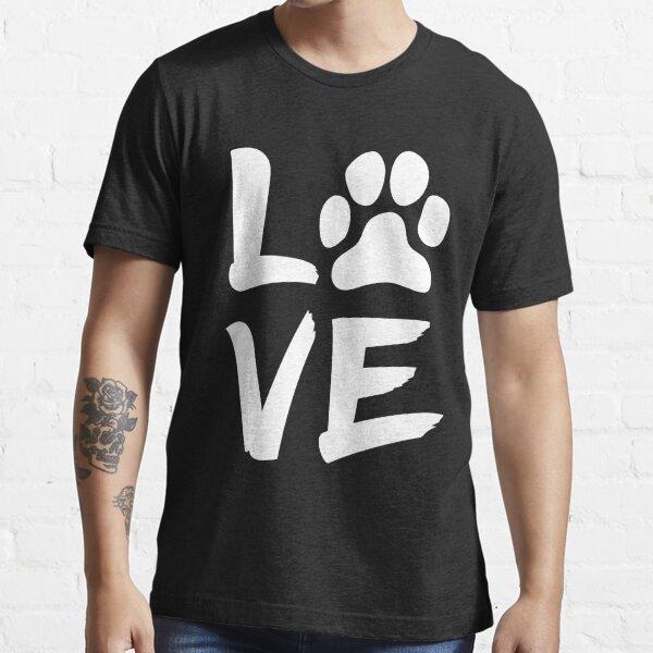 My Dog Is My Valentine Essential T-Shirt