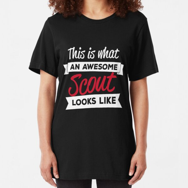THIS IS WHAT AN AWESOME SCOUT LEADER LOOKS LIKE JOKE SLOGAN T SHIRT MANY COLOURS