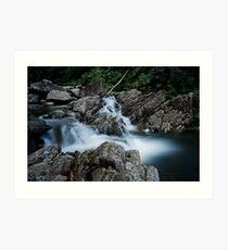 Paluma waterfall Art Print