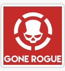 Gone Rogue Sticker