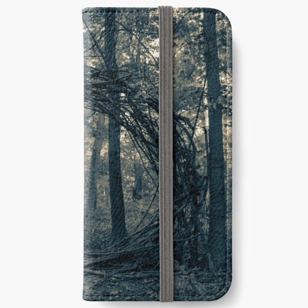 Woodland Portal of Mystery iPhone Wallet