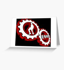 EBM Logo 2 Greeting Card
