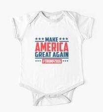 Mach Amerika wieder großartig Kurzärmeliger Einteiler