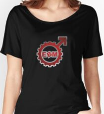 EBM Logo 9 Women's Relaxed Fit T-Shirt