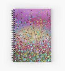 Heaven on Earth - Flower Meadow Spiral Notebook