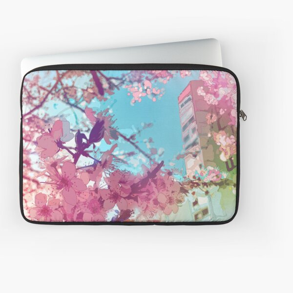 The pink spring in Tokyo Laptop Sleeve