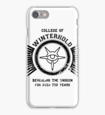 College of winterhold iPhone Case/Skin
