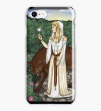 LOTR - White rose iPhone Case/Skin