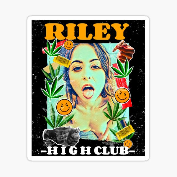 Riley Reid High Club Pegatina