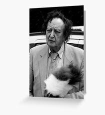 Ken Dodd Greeting Card