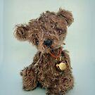 Handmade bears from Teddy Bear Orphans - Bruin by Penny Bonser
