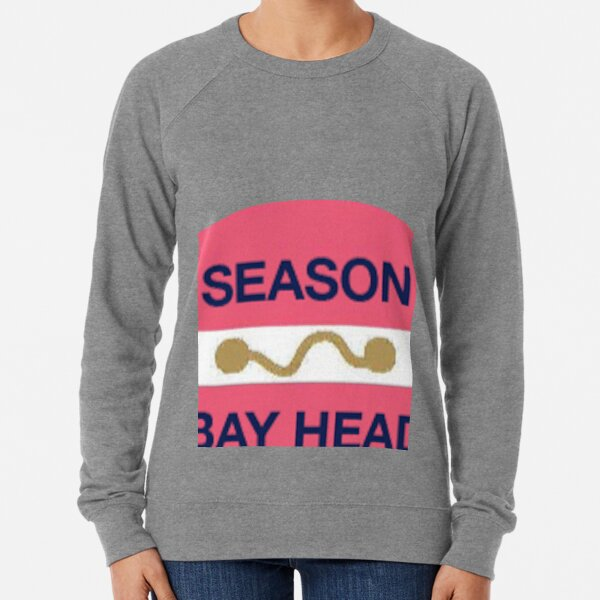 Bay Head New Jersey Beach Badge Lightweight Sweatshirt