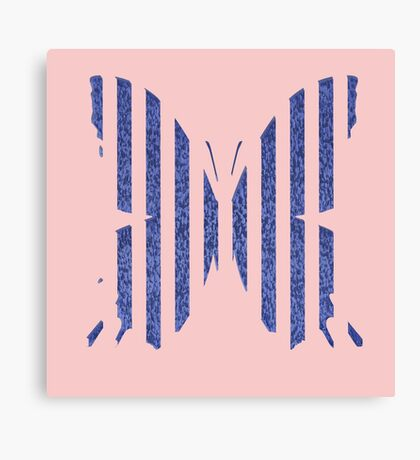 Stylized butterfly Canvas Print