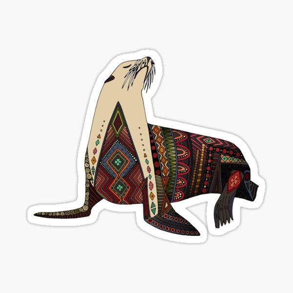 sea lion mono Sticker