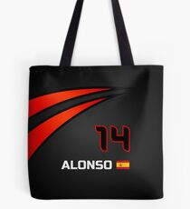 F1 2015 - #14 Alonso [revised] Tote Bag