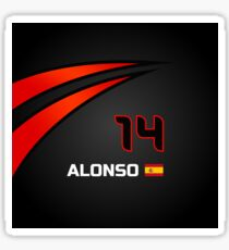 F1 2015 - #14 Alonso [revised] Sticker