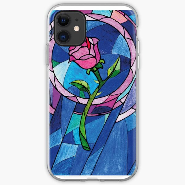 The rose iPhone Soft Case