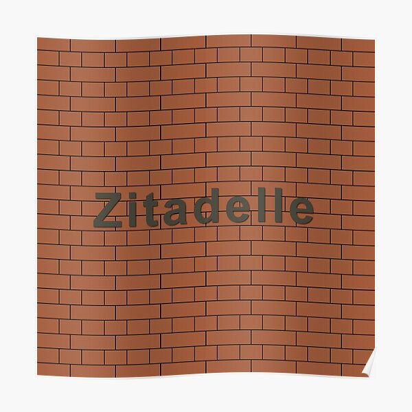 Zitadelle Station Tiles (Berlin) Poster