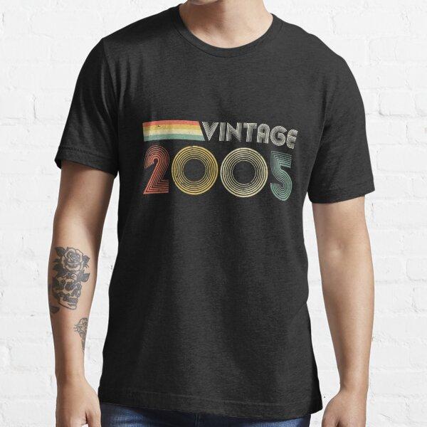Vintage 2005, 16th Birthday Gift Essential T-Shirt